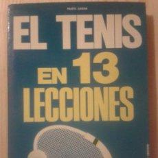 Coleccionismo deportivo - LIBROS ARTE DEPORTE - EL TENIS EN 13 LECCIONES FAUSTO GARDINI EDITORIAL DE VECCHI 1974 - 63405816