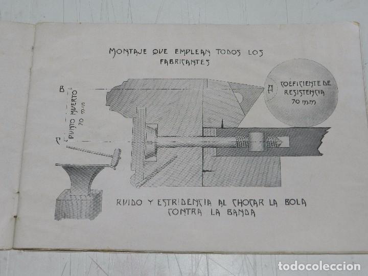 Coleccionismo deportivo: (M) CATALOGO INDUSTRIA HISPANO FRANCESA LUIS DEPRIT,( BILLAR ) FABRICA DE BILLARES, ZARAGOZA, MADRID - Foto 2 - 63738183