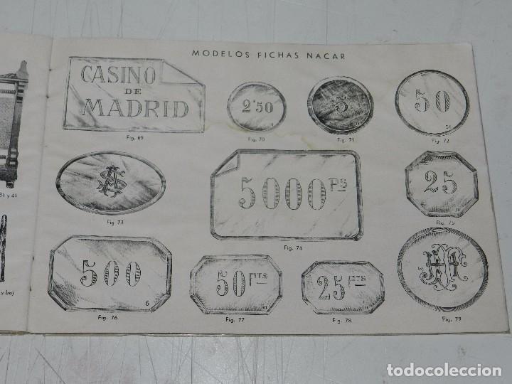Coleccionismo deportivo: (M) CATALOGO INDUSTRIA HISPANO FRANCESA LUIS DEPRIT,( BILLAR ) FABRICA DE BILLARES, ZARAGOZA, MADRID - Foto 6 - 63738183