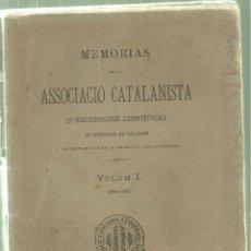 Coleccionismo deportivo: 2322.-MONGAT-VALLVIDRERA-RIPOLL-NURIA-HORTA-SANT CUGAT-EXCURSIONS CIENTIFICAS . Lote 64542159