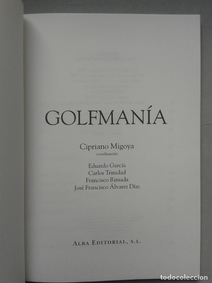 Coleccionismo deportivo: Golfmanía. Cipriano Migoya. Primera Edición. - Foto 2 - 65673378