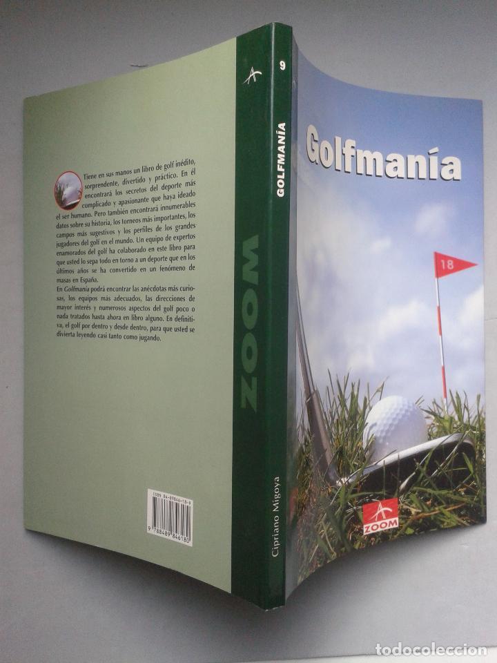 Coleccionismo deportivo: Golfmanía. Cipriano Migoya. Primera Edición. - Foto 3 - 65673378