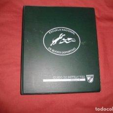 Coleccionismo deportivo: CURSO DE INSTRUCTOR 1E-N2 DE LA ESCUELA NACIONAL DE BUCEO DEPORTIVO. Lote 65774498