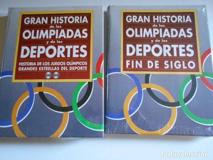GRAN HISTORIA DE LAS OLIMPIADAS Y LOS DEPORTES. FIN DE SIGLO. LIBRO Y CD-ROM NUEVOS A ESTRENAR. DIFU (Coleccionismo Deportivo - Libros de Deportes - Otros)