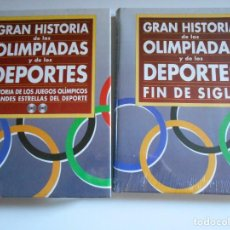 Coleccionismo deportivo: GRAN HISTORIA DE LAS OLIMPIADAS Y LOS DEPORTES. FIN DE SIGLO. LIBRO Y CD-ROM NUEVOS A ESTRENAR. DIFU. Lote 66748966