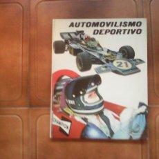 Coleccionismo deportivo: LIBRO.AUTOMOVILISMO DEPORTIVO. Lote 61569515