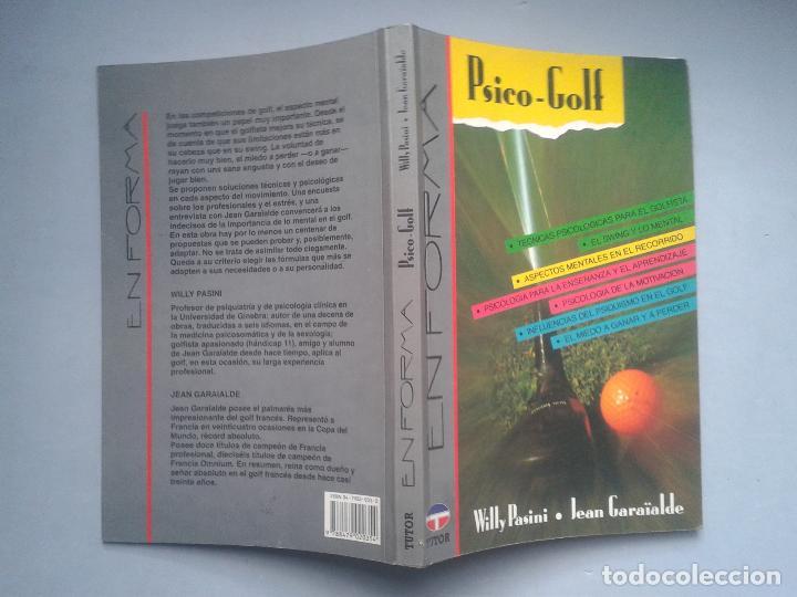 Coleccionismo deportivo: Psico Golf. Willy Pasini y Jean Garaïalde. Año 1991. - Foto 5 - 67514393