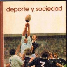 Coleccionismo deportivo: DEPORTE Y SOCIEDAD - BIBLIOTECA SALVAT- GRANDES TEMAS Nº 78 -144 PAGINAS AÑO 1975 MD361. Lote 67873821
