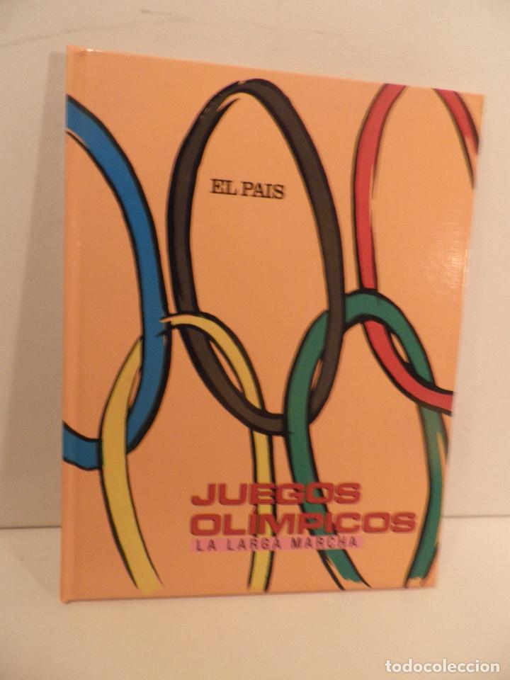 JUEGOS OLIMPICOS - LA LARGA MARCHA - EL PAIS - ORIGINAL - COMPLETO Y ENCUADERNADO (Coleccionismo Deportivo - Libros de Deportes - Otros)