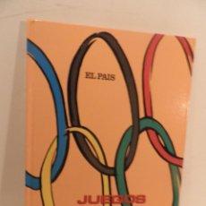 Coleccionismo deportivo: JUEGOS OLIMPICOS - LA LARGA MARCHA - EL PAIS - ORIGINAL - COMPLETO Y ENCUADERNADO. Lote 71628903