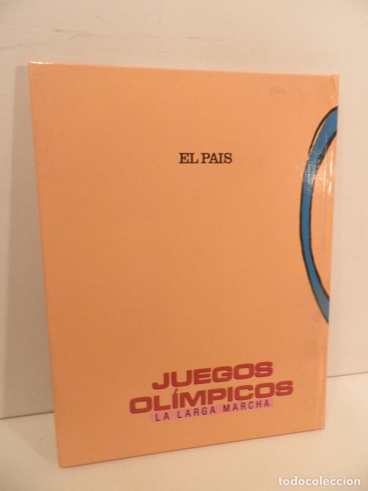 Coleccionismo deportivo: JUEGOS OLIMPICOS - LA LARGA MARCHA - EL PAIS - ORIGINAL - COMPLETO Y ENCUADERNADO - Foto 2 - 71628903