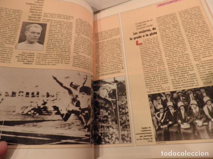 Coleccionismo deportivo: JUEGOS OLIMPICOS - LA LARGA MARCHA - EL PAIS - ORIGINAL - COMPLETO Y ENCUADERNADO - Foto 4 - 71628903