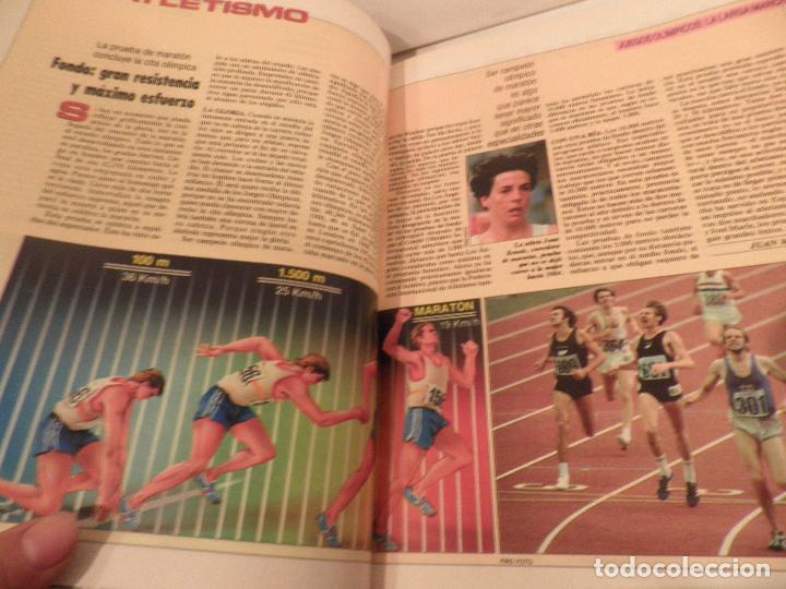 Coleccionismo deportivo: JUEGOS OLIMPICOS - LA LARGA MARCHA - EL PAIS - ORIGINAL - COMPLETO Y ENCUADERNADO - Foto 5 - 71628903