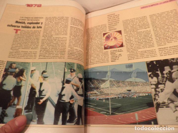 Coleccionismo deportivo: JUEGOS OLIMPICOS - LA LARGA MARCHA - EL PAIS - ORIGINAL - COMPLETO Y ENCUADERNADO - Foto 6 - 71628903