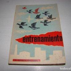 Coleccionismo deportivo: ENTRENAMIENTO - DR. VÍCTOR M. PÉREZ LERENA - PALOMAS - COLOMBOFILIA. Lote 72135107