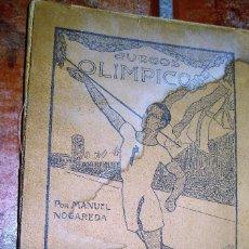 Coleccionismo deportivo: LIBRO JUEGOS OLIMPICOS . MANUEL NOGAREDA . BIBLIOTECA LOS SPORTS AÑOS 20 BONITA PUBLICIDAD. Lote 73836435