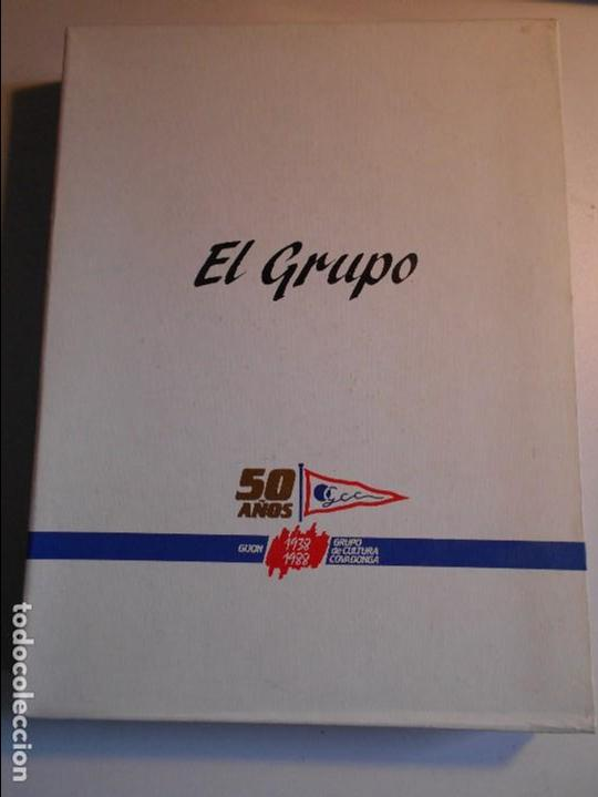EL GRUPO. 50 AÑOS. GIJON 1938 - 1988. GRUPO DE CULTURA COVADONGA. OBRA EN 2 TOMOS. MASES EDICIONES. (Coleccionismo Deportivo - Libros de Deportes - Otros)