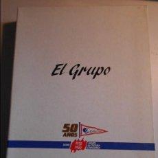 Coleccionismo deportivo: EL GRUPO. 50 AÑOS. GIJON 1938 - 1988. GRUPO DE CULTURA COVADONGA. OBRA EN 2 TOMOS. MASES EDICIONES. . Lote 73992935
