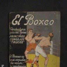 Coleccionismo deportivo: EL BOXEO-LIBRO GUIA DEL BOXEO-PRINCIPIOS, CONSEJOS Y TRUCOS-VER FOTOS-(V-18.023). Lote 182521245