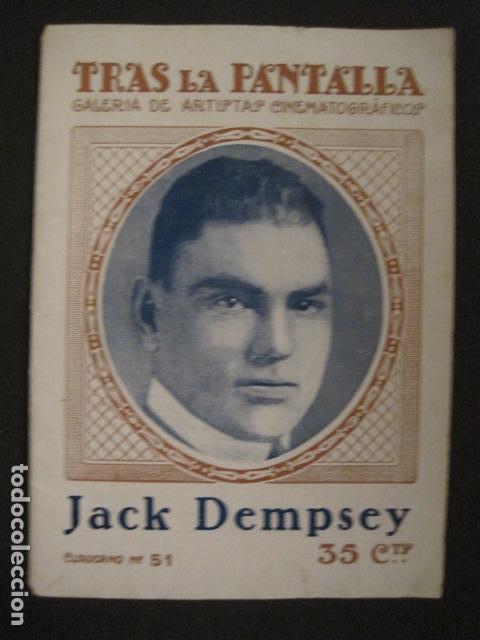 Coleccionismo deportivo: BOXEO - JACK DEMPSEY - TRAS LA PANTALLA - -VER FOTOS-(V-8633) - Foto 2 - 74627591