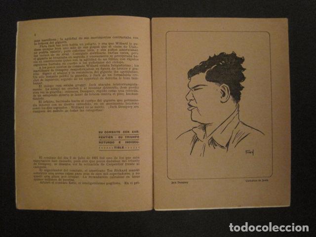 Coleccionismo deportivo: BOXEO - JACK DEMPSEY - TRAS LA PANTALLA - -VER FOTOS-(V-8633) - Foto 4 - 74627591