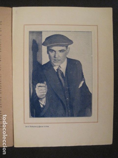 Coleccionismo deportivo: BOXEO - JACK DEMPSEY - TRAS LA PANTALLA - -VER FOTOS-(V-8633) - Foto 5 - 74627591