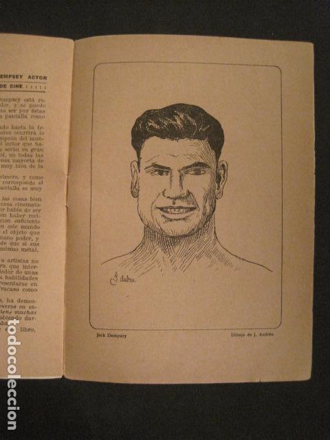 Coleccionismo deportivo: BOXEO - JACK DEMPSEY - TRAS LA PANTALLA - -VER FOTOS-(V-8633) - Foto 9 - 74627591