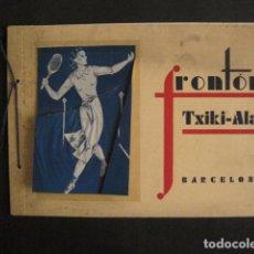Coleccionismo deportivo: FRONTON TXIKI ALAI - BARCELONA - CATALOGO - VER FOTOS-(V-9160). Lote 76632259