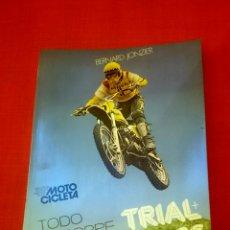 Coleccionismo deportivo: TRIAL+ MOTOCROSS JONZIER, BERNARD. Lote 76884541