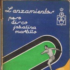 Coleccionismo deportivo - Los lanzamientos. Peso, disco, jabalina, martillo. La guía del principiante - 78065197