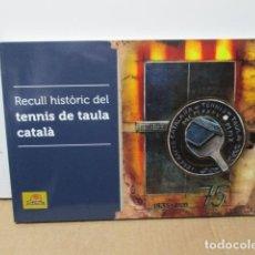 Coleccionismo deportivo: RECULL HISTORIC DE EL TENIS DE TAULA CATALA (EN CALALAN) MUCHAS FOTOS, COMO NUEVO. Lote 82043380