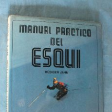 Coleccionismo deportivo: MANUAL PRACTICO DE ESQUI POR DUDIGER JAHN, EVEREST 1982. Lote 83956588