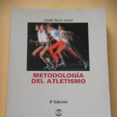 Coleccionismo deportivo - Metodología del atletismo, Joan Rius Sant, ed. Paidotribo, año 1993 deporte ercom c1 - 84862844
