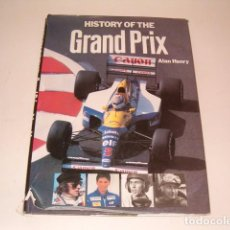 Coleccionismo deportivo: ALAN HENRY. HISTORY OF THE GRAND PRIX. RM80978.. Lote 87059924