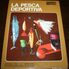 Coleccionismo deportivo: DOCUMENTAL EN COLOR - LA PESCA DEPORTIVA - ED. TEIDE / INST. GEOGRAFICO DE AGOSTINI - 1974. Lote 88151476