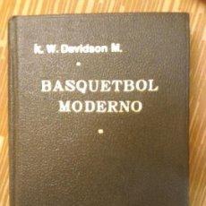 Coleccionismo deportivo: BASQUETBOL MODERCHILE - 1950 - NO, POR K. W. DAVIDSON M.- PRIMERA EDICION- TAPAS DURAS - JOYA!. Lote 88910900