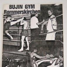 Coleccionismo deportivo: THAI BOXING - MUAY THAI - CUADERNILLO TÉCNICO IDIOMA ALEMÁN. Lote 89191068