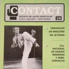 Coleccionismo deportivo: CONTACT REVISTA DE ARTES MARCIALES Nº 10 (AÑO 1990). Lote 89192180