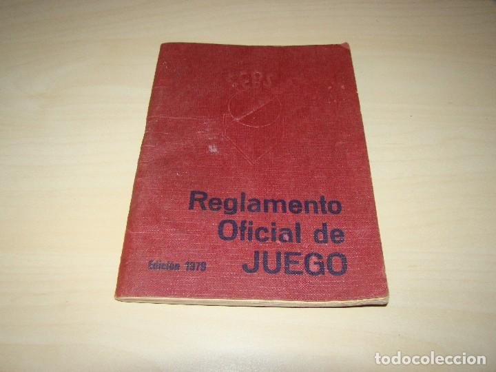 BÉISBOL - REGLAMENTO OFICIAL DE JUEGO - 1979 (Coleccionismo Deportivo - Libros de Deportes - Otros)