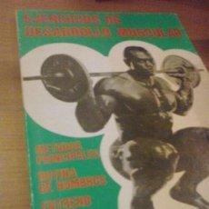 Coleccionismo deportivo: EJERCICIOS DE DESARROLLO MUSCULAR. Lote 90220436