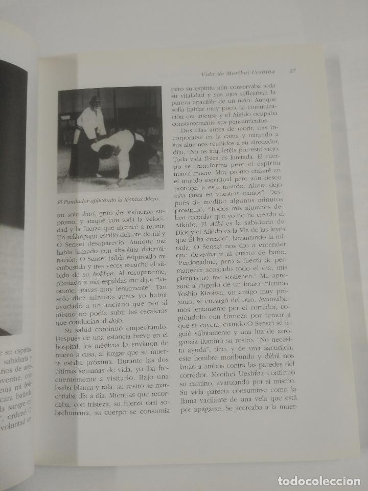 Coleccionismo deportivo: Aikido O La Armonía De La Naturaleza. - Saotome Mitsugi. BIBLIOTECA DE LA SALUD KAIROS. TDK245 - Foto 2 - 107292026