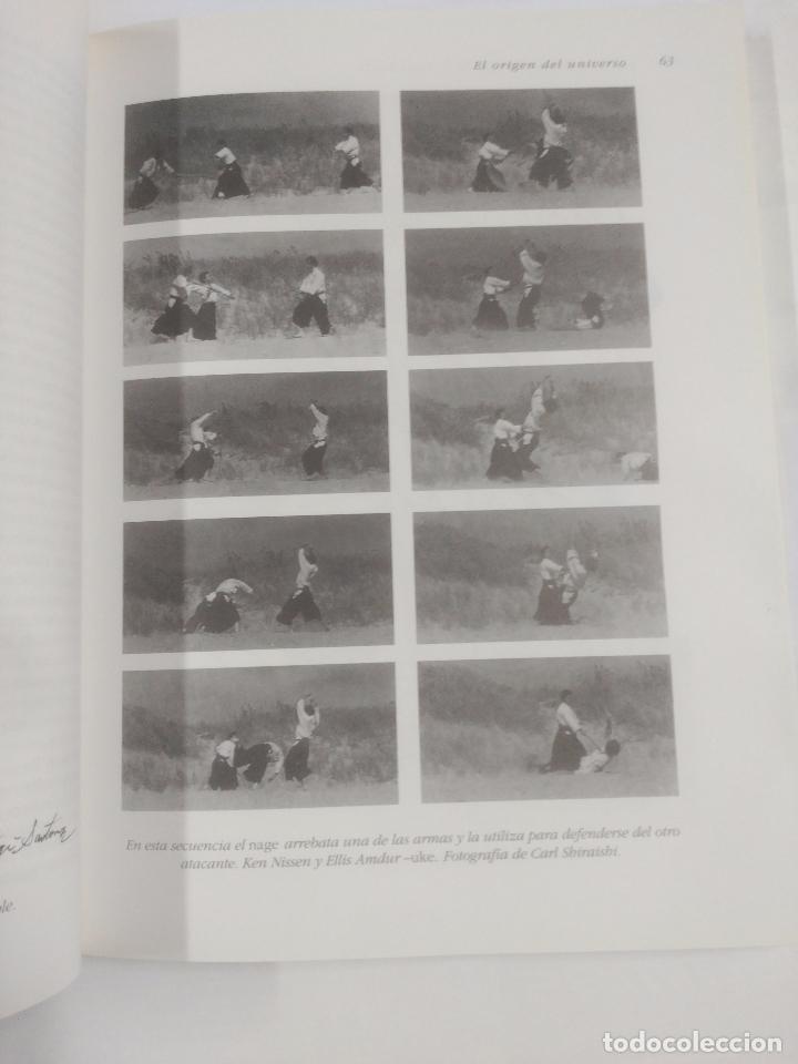 Coleccionismo deportivo: Aikido O La Armonía De La Naturaleza. - Saotome Mitsugi. BIBLIOTECA DE LA SALUD KAIROS. TDK245 - Foto 4 - 107292026
