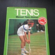 Coleccionismo deportivo: TENIS MANUEL TARIN ALONSO 1982. Lote 91099283