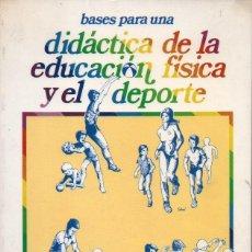Coleccionismo deportivo: F. SÁNCHEZ BAÑUELOS : DIDÁCTICA DE LA EDUCACIÓN FÍSICA Y EL DEPORTE (GYMNOS,1986). Lote 91284655