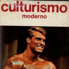 Coleccionismo deportivo: J. VIÑAS BUENACHE : CULTURISMO MODERNO (HISPANO EUROPEA, 1985) . Lote 91284955