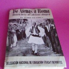 Coleccionismo deportivo: OLIMPIADAS DE ATENAS A ROMA - 1960 - JUEGOS OLIMPICOS. Lote 94377142