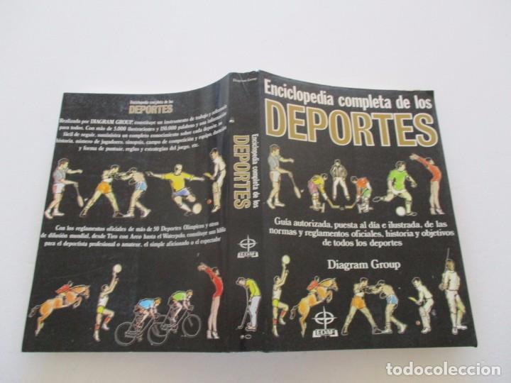 ENCICLOPEDIA COMPLETA DE LOS DEPORTES. RM82028. (Coleccionismo Deportivo - Libros de Deportes - Otros)