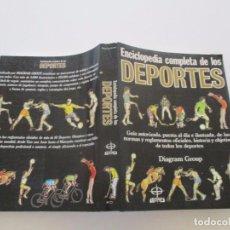Coleccionismo deportivo: ENCICLOPEDIA COMPLETA DE LOS DEPORTES. RM82028. . Lote 94677451