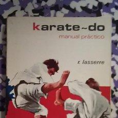 Coleccionismo deportivo: KARATE-DO MANUAL PRACTICO. Lote 95072915