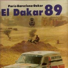 Coleccionismo deportivo: PARIS BARCELONA DAKAR 89 RACC. Lote 95170763